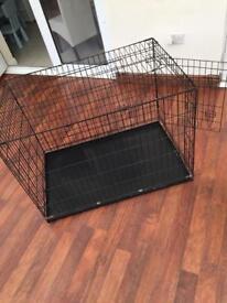 Large dog crete cage