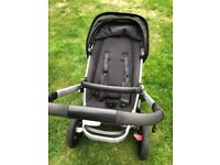 Quinny Buzz Xtra Stroller with Brand new carry cot
