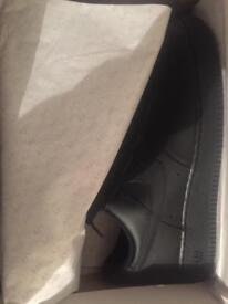 Black Air Force 1 Size 10.5