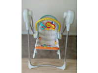 Fisher Price 3 in 1 Swing n Rocker BFH06. Very Good Condition
