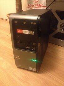 Windows 7 Core2Duo PC with LCD, Graphic Card, Accessories & MS Office 2010 - Complete Set