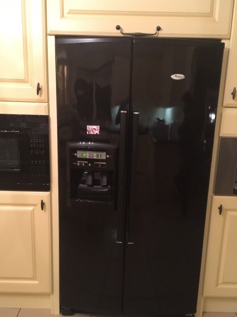Whirlpool American style fridge freezer