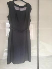 Grey work dress size 18