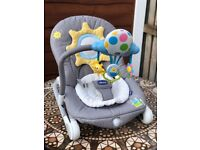 Chicco Balloon Baby Bouncer - Grey