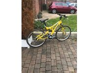 mono shock mountian bike with disc brake