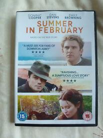 SUMMER IN FEBRUARY DVD