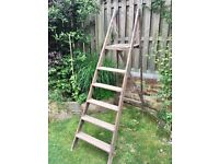 Wooden step ladder - good condition