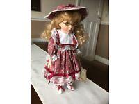 'Rachel' Porcelain Collectible Alberon Doll