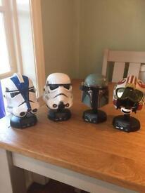 Star Wars mini replica Helmets