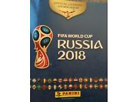 FIFA World Cup Russia 2018 panini stickers swaps