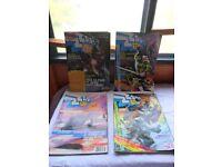 four 1980,s Zap comic,s/ magazines