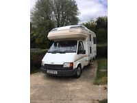 Ford motorhome, 4/5 birth, 5 travelling seats, recent MOT, Service with £2000 just spent on it