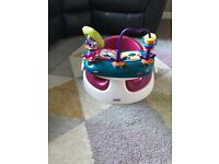 Mamas and papas Bumba chair with toy tray