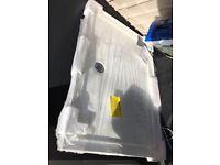 White large stone resin tray