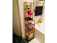 Bathroom shelving unit - excellent condition, as new