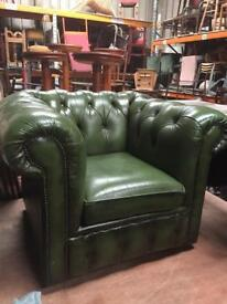 Chesterfield chairs x2