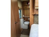 Swift Challenger 570 4 berth with fixed bed and end washroom