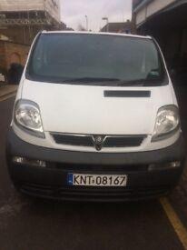 Vauxhall vivaro 1.9 cdti