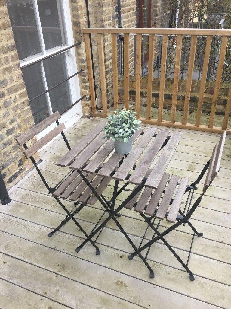 ikea tarno outdoor furniture set in southwark london. Black Bedroom Furniture Sets. Home Design Ideas