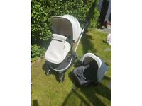 Icklebubba 3 in 1 pushchair