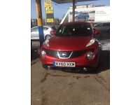 Nissan Juke only 2 owners from new cheap car