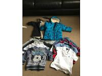 Boys clothes bundle 1.5-2 years