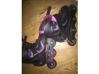 Inline skate only use 2times