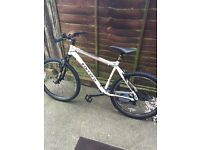 Carerra mountain bike only 2 weeks old brand new condition