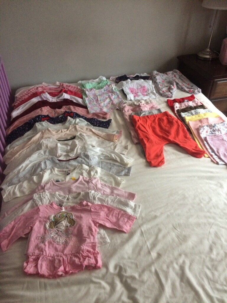 Baby Clothes Bundle 0-9 Months. Great Condition.