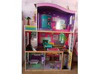 Large doll house approx 4ft tall