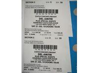 Del Amitri Tickets