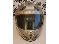Shark Motorcycle Helmet Pristine Condition