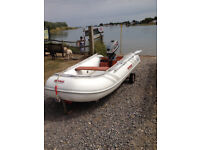2.8 meter rib for sale with 5 horse power two stroke engine
