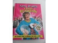 1st Official Mrs Brown's Boys Family Handbook. Brand new and unused. Unwanted Gift