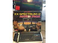 ZX spectrum2+ action pack with 20 Games