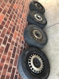 Transit Connect Steel Wheels