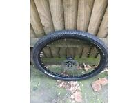 """Bike tire 22 """" whyte bike seat"""