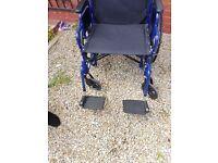Ex large wheelchair