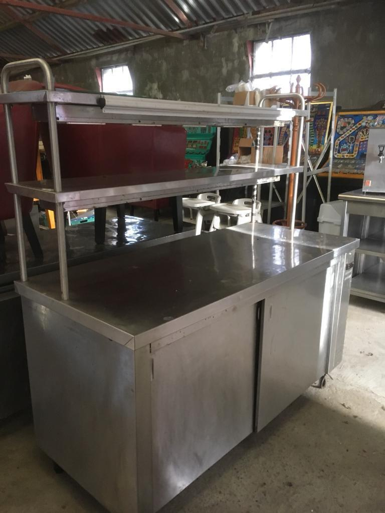 ELECTRIC HEATED SERVE OVER