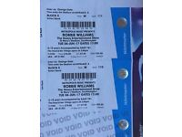Robbie Williams tickets Tuesday 6th June Southampton