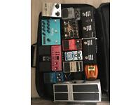 Pedal Board + All pedals