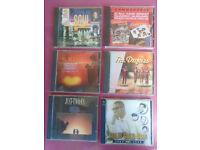 6 Superb Music CD's .. SOUL & MOTOWN . See Photos