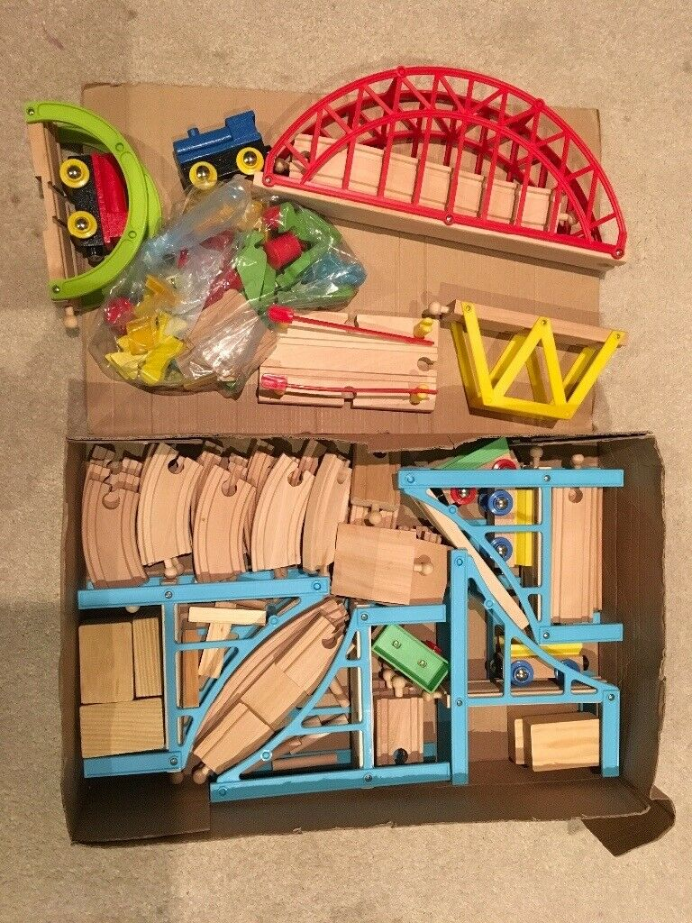 Carousel Wooden Train Set In Excellent Condition In Cheadle Hulme Manchester Gumtree