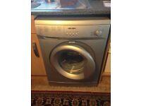 3 year old Bush washing machine, A+ energy efficiency