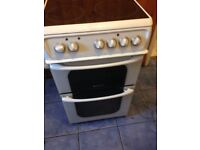 Hot point ceramic electric cooker 50cm.....Cheap Free Delivery