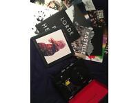GRAUSCH Vinyl player with 38 Vinyls