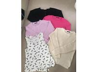 Size 14 jumpers and top