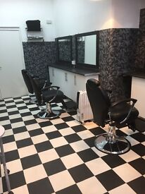Barber Chairs & Nail Stations to rent in Brixtons newly regenerated area.