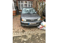 NISSAN MICRA K11 BREAKING FOR PARTS, ENGINE RUNNING LEAN.