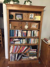 Bespoke Solid Pine Bookcase or Bookshelf